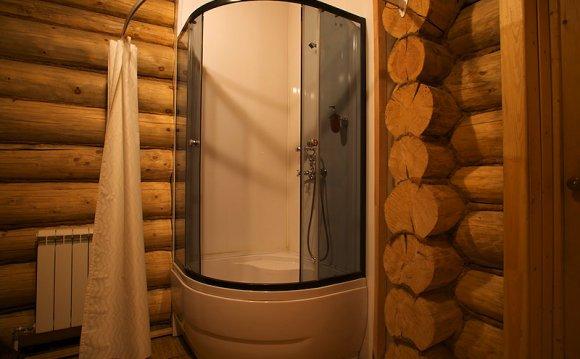 Душевая кабина в бане